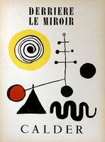 Alexander Calder, 'Alexander Calder Derrière le miroir c.1950', ca. 1950