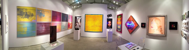 RUDOLF BUDJA GALLERY at Art Miami 2016, installation view