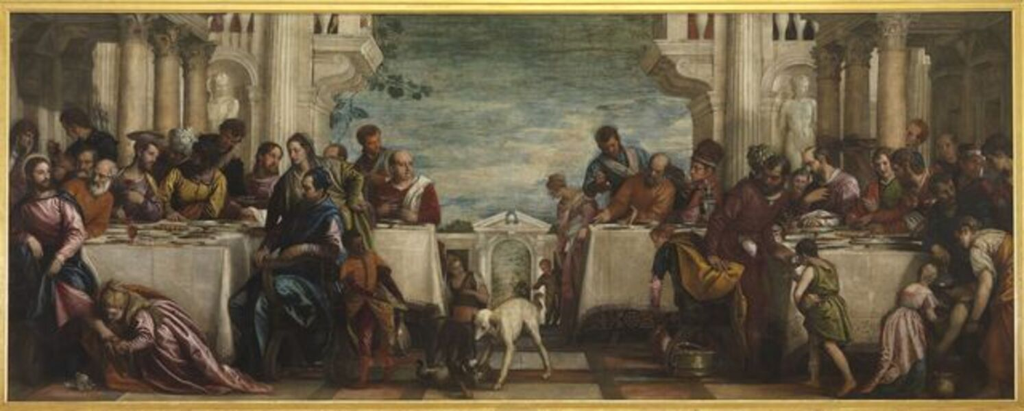 Paolo Veronese, 'The Feast in the House of Simon', 1570