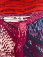 Andy Warhol, 'The Scream, Pink (Sunday B. Morning)', 1970-2020