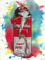 Mr. Brainwash, 'Torn Spray Can', 2020