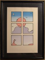 Peter Max, 'Landscape Through Window - Limited Edition Serigraph by Peter Max', 1979