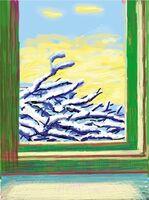 David Hockney, 'My Window. Art Edition (No. 501–750), iPad drawing 'No. 610', 23rd December 2010', 2019
