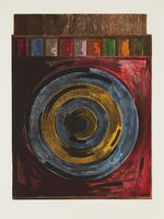 Jasper Johns, 'Target with Plaster Casts', 1979-1980