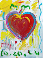 Peter Max, 'HEART', 2004