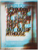 Christopher Wool, 'My House II', 2000