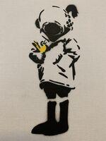 "Banksy, 'BANKSY DISMALAND ""DIVER HELMET GIRL"" ', 2015"