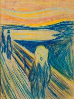 Edvard Munch, 'The Scream', 1893-1910