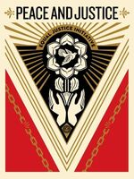 Shepard Fairey (OBEY), 'Peace Justice', 2018