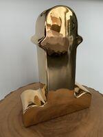 Ettore Sottsass, 'Shiva Vase Gold (Limited Edition)', 2014
