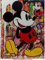 Mr. Brainwash, 'Mickey Mouse', 2014