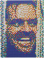 Invader, 'Rubik Kubrik II (Johnny)', 2007