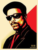 Shepard Fairey (OBEY), 'ICE-T OG (RED)', 2016