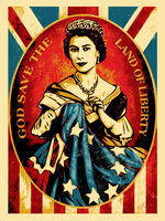 Shepard Fairey (OBEY), 'Americana Box Set: God Save The Queen', 2012