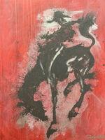 Richard Hambleton, 'Horse and Rider', 2011