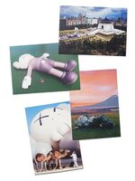 KAWS, 'Brooklyn Museum - HOLIDAY Postcard (Set of 4), 2021', 2021