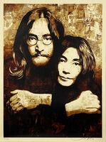 Shepard Fairey (OBEY), ''John & Yoko Canvas'', 2010