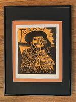 Pablo Picasso, 'Toros Vallauris 1958', 1958
