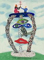 Niki de Saint Phalle, 'The Hierophant - Card No. V', 1998