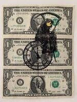 "Banksy, 'BANKSY DISMALAND US DOLLAR ""GRIN REAPER"", REAL CURRENCY DOLLAR', 2015"