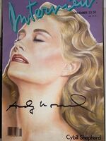 Andy Warhol, 'Interview Magazine signed by Andy Warhol (Cybill Shepherd)', 1986