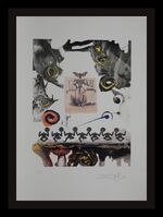 Salvador Dalí, ' Memories of Surrealism Surrealist Gastronomy', 1971