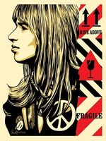 "Shepard Fairey (OBEY), '""Fragile Peace""', 2017"
