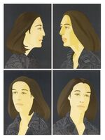 Alex Katz, 'Ada four times series'