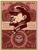 Shepard Fairey (OBEY), 'Lenin Money', 2003