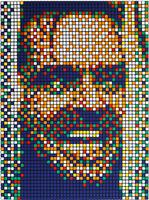 Invader, 'Rubik Kubrick II (Jack)', 2007
