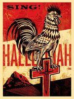Shepard Fairey (OBEY), 'Americana Box Set: Jesus' Chariot', 2012