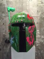 Alec Monopoly, 'Boba Fett Helmet', 2015