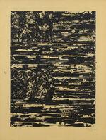 Jasper Johns, 'Two Flags', 1980
