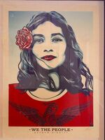 Shepard Fairey, 'We the People ', 2016