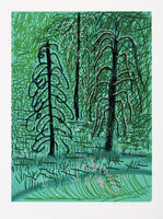 David Hockney, 'The Yosemite Suite No.16', 2010
