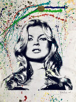 Mr. Brainwash, 'Cover Girl Kate Moss', 2011