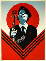 Shepard Fairey, ''Peace Guard 2'', 2016