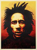 Shepard Fairey (OBEY), ''Bob Marley Print'', 2014