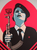 Shepard Fairey, 'Peace Guard 2', 2016