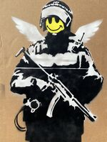 Banksy, 'Smiling Copper aka Flying Copper ', 2003