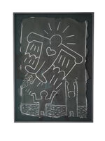"""Keith Haring, 'Untitled Subway Drawing """"Flying Devil""""', 1980-1985"""