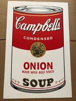 Andy Warhol, 'Campbell's Soup 11.47 Onion', ca. 1960