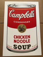 Andy Warhol, 'Campbell's Soup - Chicken Noodle', ca. 1960