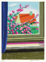 David Hockney, 'My Window, 'No. 778'', 2011