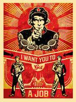 Shepard Fairey, 'Americana Box Set: Get A Job ', 2012