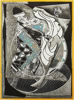 Frank Stella, 'Jonah Historically Regarded, from Moby Dick Engravings', 1991