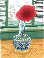 David Hockney, 'iPad drawing 'No. 281', 23rd July 2010', 2010