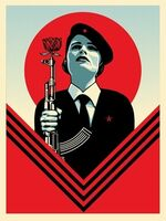 Shepard Fairey (OBEY), 'Peace Guard 2', 2016