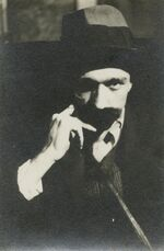 Self-portrait with Mustache
