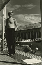David Hockney, Piscine Royale, Paris, France